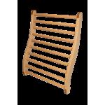 Ergonomiczne oparcie do sauny