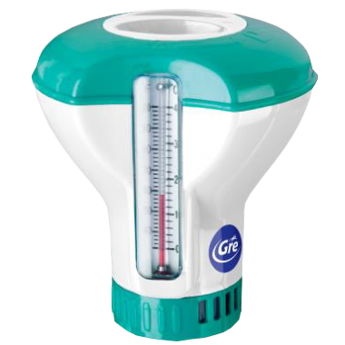 Dozownik chloru z termometrem