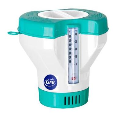 Dozownik chloru z termometrem  duży