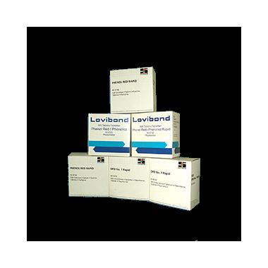 Tabletki do pomiaru  pH i chloru wolnego.