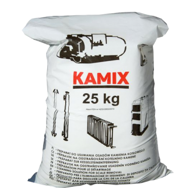 KAMIX preparat do usuwania kamienia kotłowego 25kg