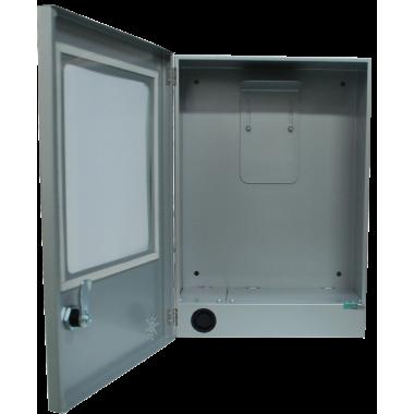 Szafka metalowa na defibrylator AED z alarmem