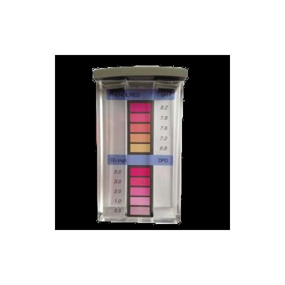 Tester 3 komory do pomiaru Cl/pH