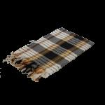 Chusta Hammam do sauny 80 x 170 cm czarna
