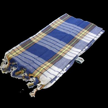Chusta Hammam do sauny  80 x 170 cm niebieska